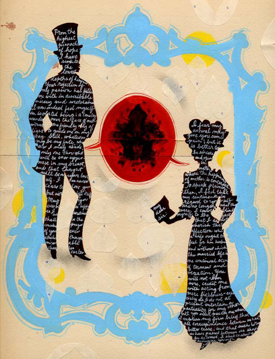 Leigh Wells Illustration Victorian Silhouettes