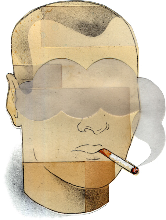 Leigh Wells Illustration Time Magazine Smoking Science Health