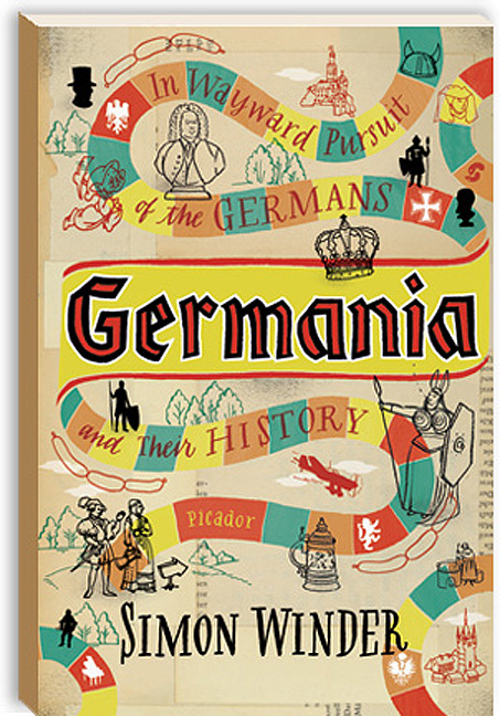 Leigh Wells Illustration Lettering Cover Picador Germania Book